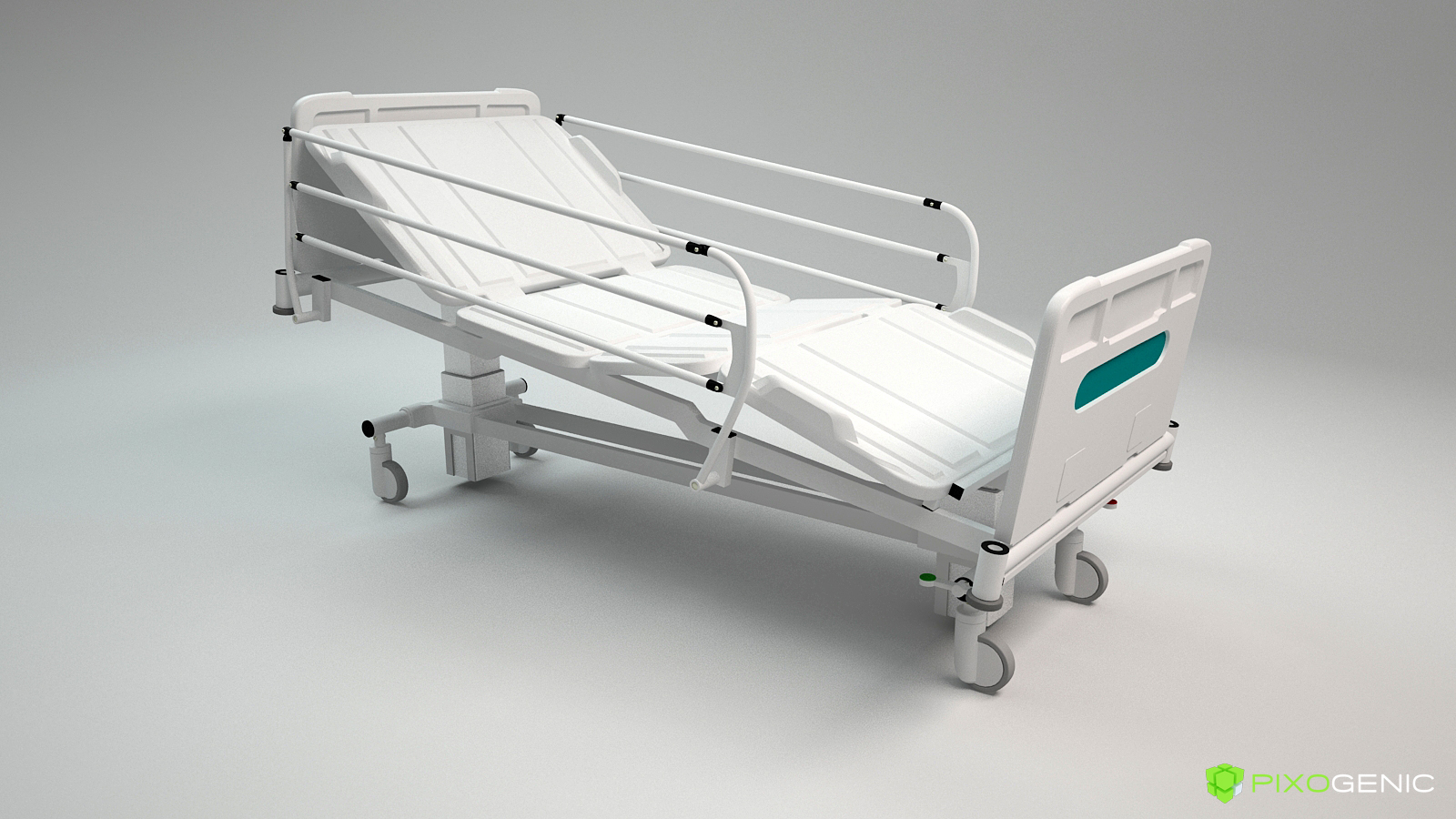 Hospital Bed 01
