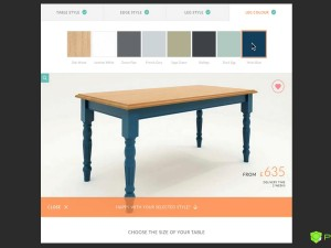 Configurator For Tables